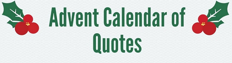 Advent Calendar of Quotes featured image