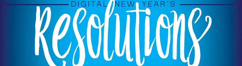 Digital New Year's Resolutions 2016 featured image