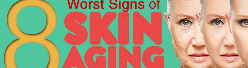 8 worst signs of skin aging title