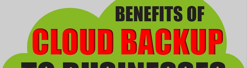 Benefits of Cloud Backup to Businesses title
