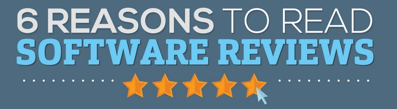 6 reasons to read software reviews title