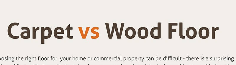 carpets vs wood floors title