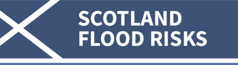 Flood Risk Areas of Scotland title