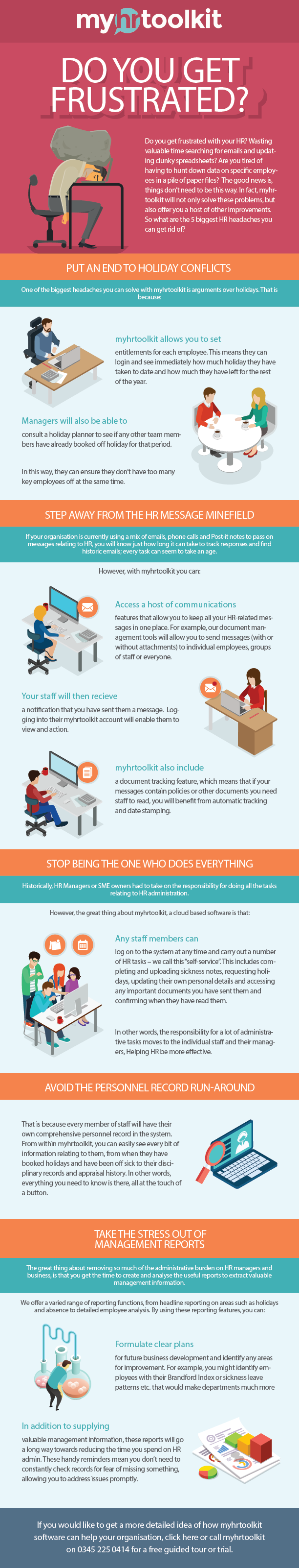 frustrated with hr? infographic