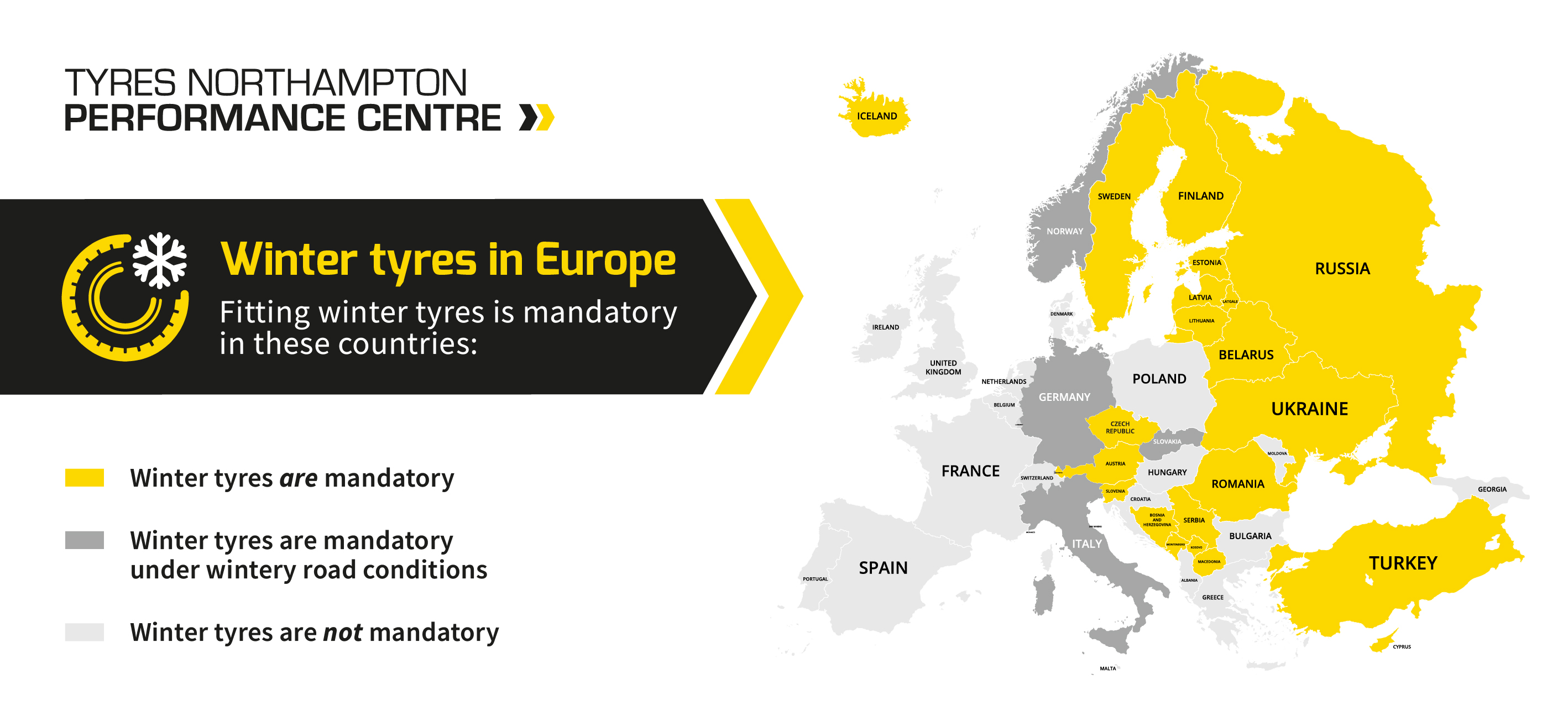 winter tyres in europe graphic