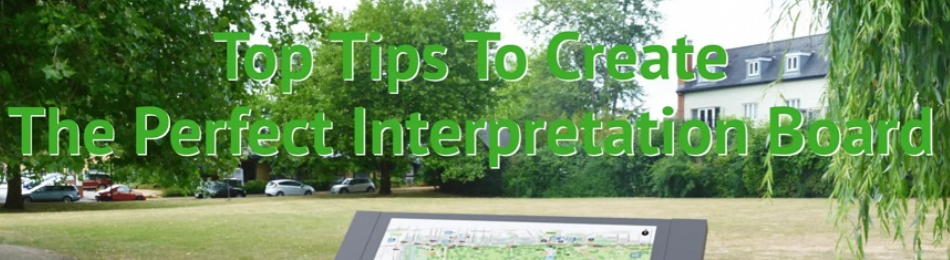 tips to create interpretation boards